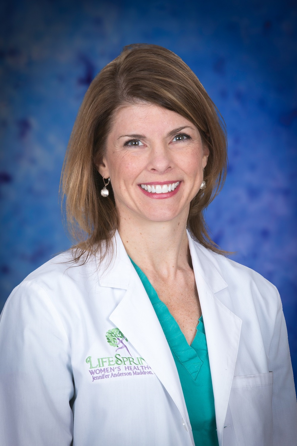 Jennifer Anderson Maddron, MD of the OBGYN Team at LifeSprings Women's Healthcare